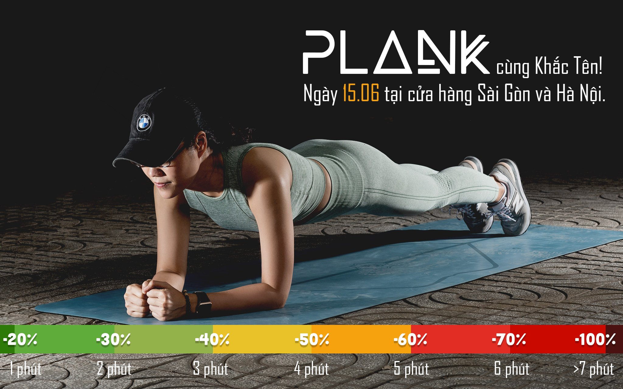[QC] Invite to Khac Ten plank to receive promotion