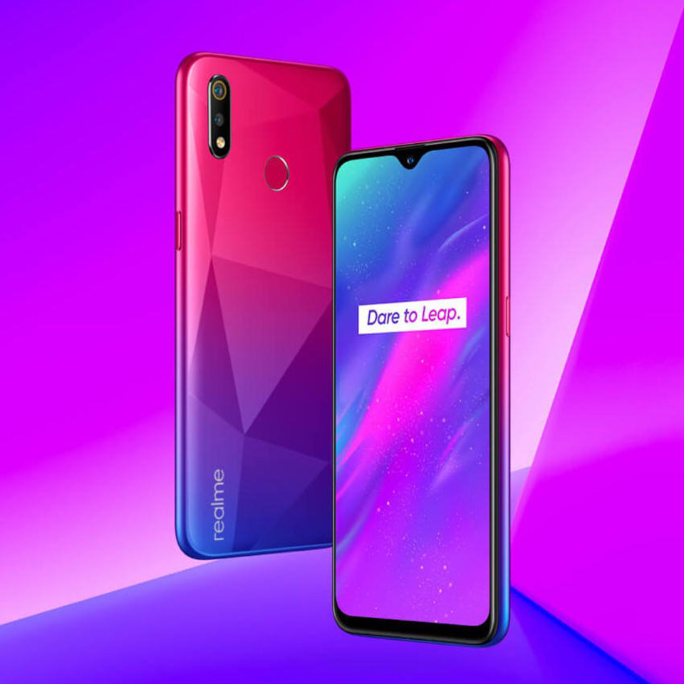 Sforum - Latest technology information page Realme-3 Realme 3 is about to have a red option Diamond, high-class, eye-catching diamond pattern