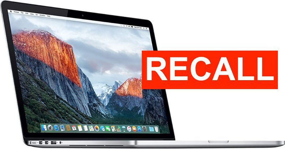Macbook-pro-recall Page: Apple has recalled 432,000 2015 MacBook Pro 15s with battery failures, 26 cases reporting battery overheating