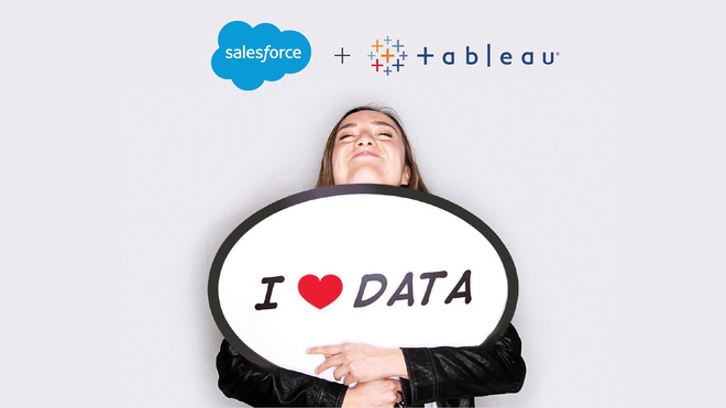 Salesforce acquired Tableau data visualization company in the $ 15.7 billion deal - Photo 1.
