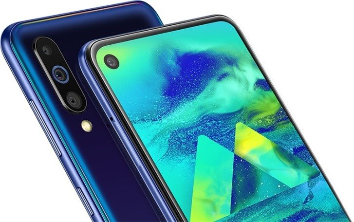 Samsung Galaxy M40 launches: perforated screen, 3 cameras