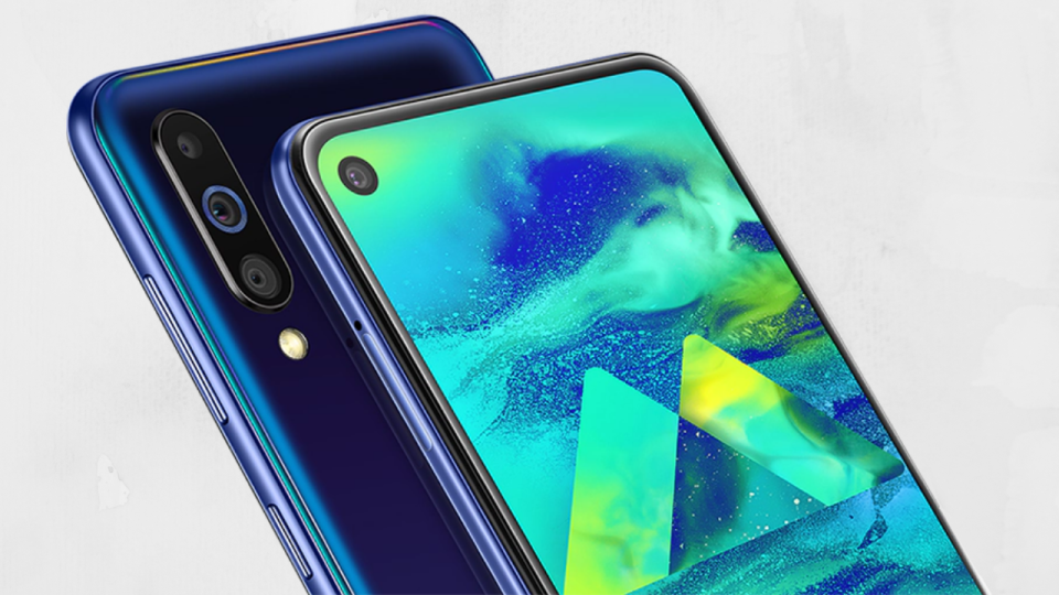 """Sforum - Latest technology information page Samsung-Galaxy-M40-ra-mat-1 Samsung Galaxy M40 officially launched: """"Perforated"""" screen, Snapdragon 675 chip, 3 rear cameras, price 6.7 million"""