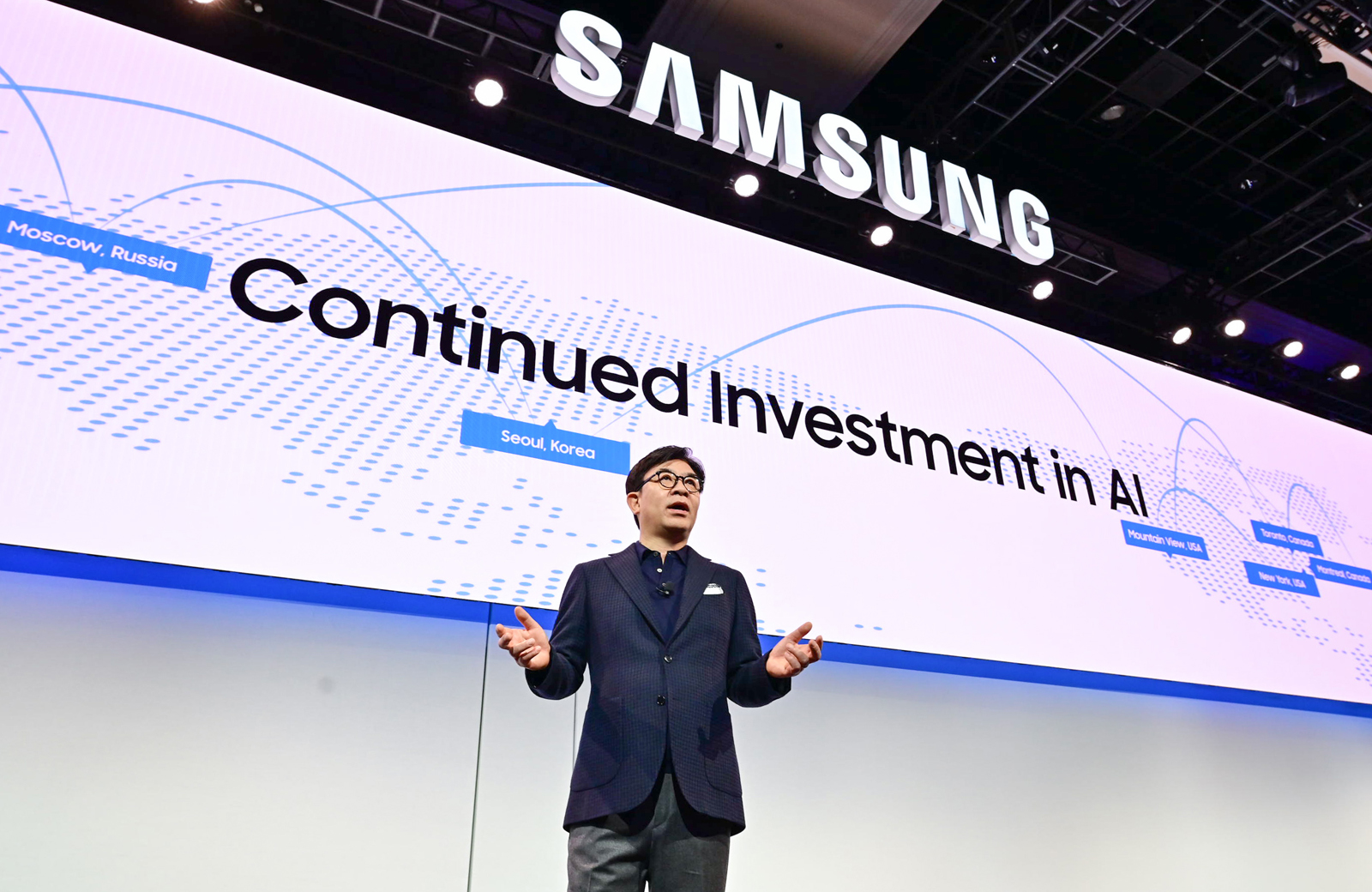 Sforum - Latest technology information page Samsung-AI Samsung has the third largest number of patents in the world, just behind IBM and Microsoft.