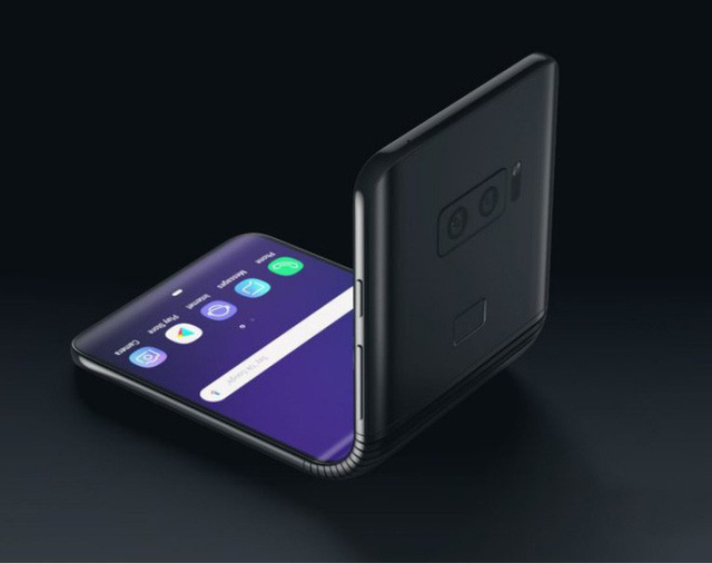 Samsung is developing a slim-type folding screen smartphone, measuring 6.7 inches, launched in 2020 - Photo 1.
