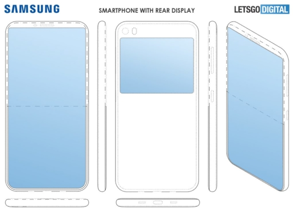 Sforum - Latest technology information page Samsung smartphone-met-dual-display-1024x740-600x434 is developing and will soon launch a smartphone with dual screen
