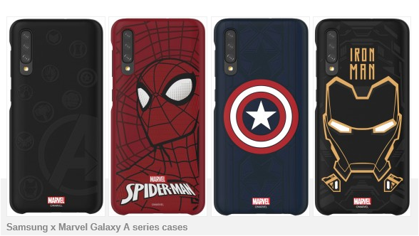 Samsung launched the Marvel superhero case collection for Galaxy A40, A50 and A70, priced at nearly 800,000 - Photo 1.