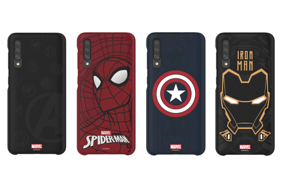 Sforum - Samsung-selling-Marvel latest technology information page-themed-covers-for-Galaxy-S10-and-select-Galaxy-A Samsung launches super cute Marvel superhero for Galaxy S10 and line Galaxy A