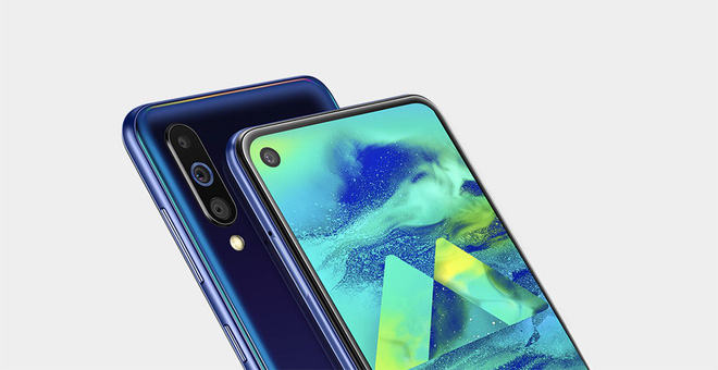 Galaxy M40 launches: Infinity-O, Snapdragon 675 screen, 3 main cameras, 4000mAh battery, price 6.7 million - Photo 1.