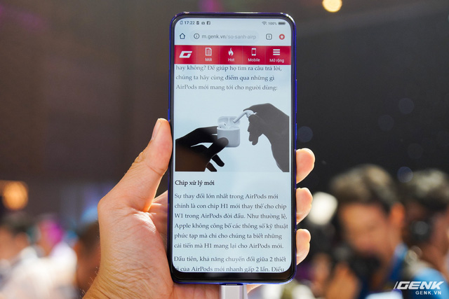 Series of screen smartphones are not ideal with the first half gamers 2019 - Photo 1.