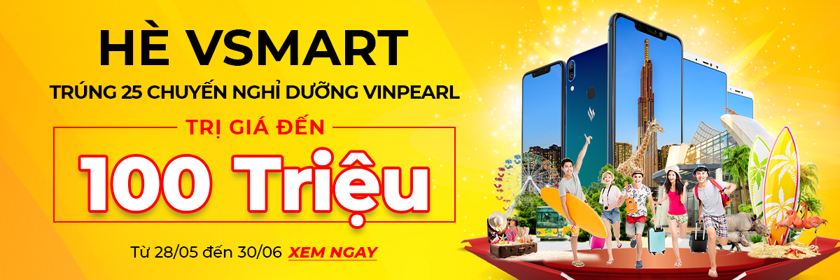 Sforum - Latest technology information page Landing-Page-1200x400 Summer month: Vsmart's month with great promotions, winning 25 tours worth up to 100 million