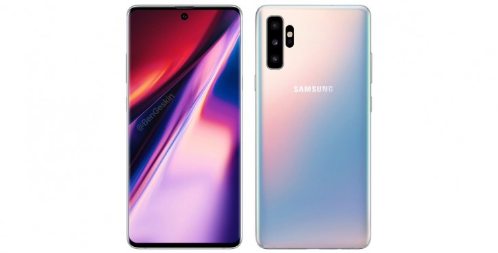 Sforum - The latest technology information page gsmarena_001 Galaxy Note 10 will still have physical hard keys, but the 3.5mm headphone jack does not