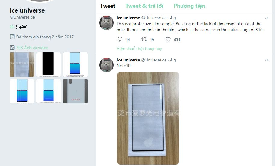 Sforum - Latest technology information page note10 This is real evidence that Galaxy Note 10 has very thin edges