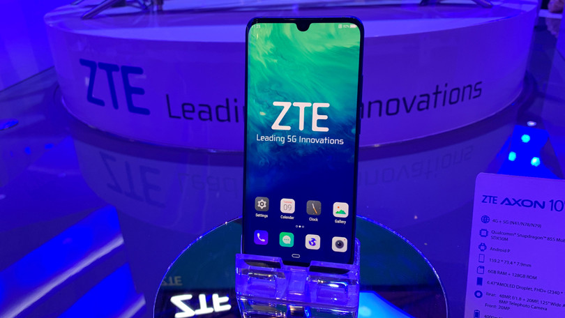 Sforum - ZTE's latest ZTE-Axon-10-Pro-5G Smartphone 5G smartphone site will be launched in July right in Vietnam.