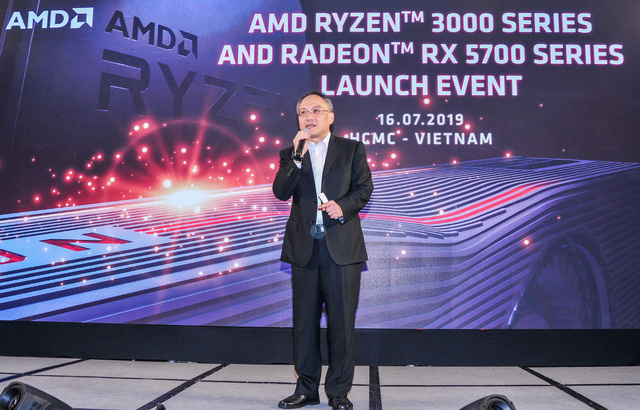AMD officially introduced the rationally powerful Ryzen 3000 and RX 5700 duel in Vietnam - Photo 1.