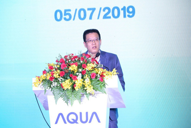 AQUA Vietnam officially inaugurated the front door washing machine factory - Photo 1.
