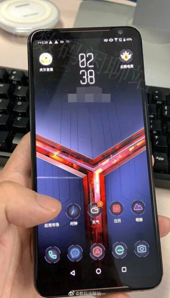 Sforum - Latest technology information page Asus-ROG-Phone-2-Leak-343x600 ASUS ROG Phone 2 shows up in real-life images