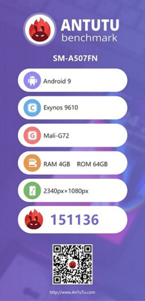 Sforum - Latest technology information page Galaxy-A50s-xuat-hien-tren-AnTuTu-1-290x600 After Geekbench, Galaxy A50s continue to reveal impressive benchmark on AnTuTu