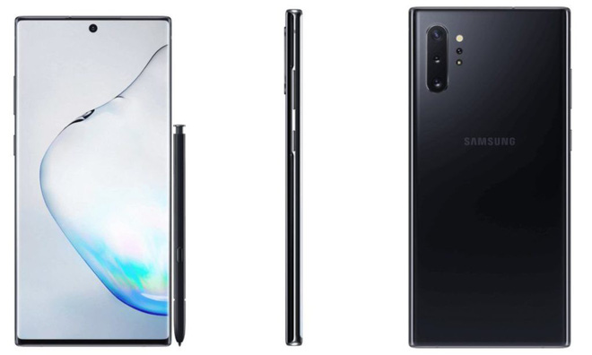 After Note 10, it is your turn to Note 10+ to reveal the official design, the difference is on the 4th camera - Photo 1.
