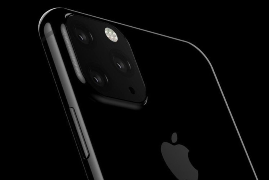 Renders of the Apple iPhone 11 show a square camera module on the back of the phones