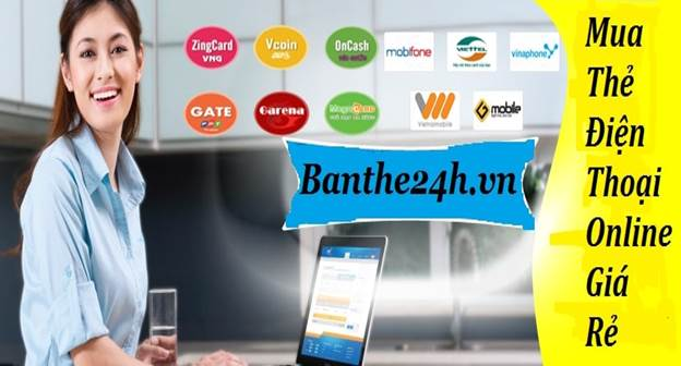 Banthe24h.vn - website providing reputable phone cards - VnReview