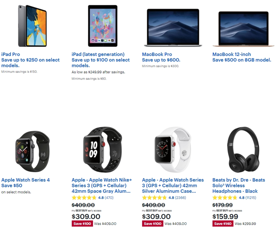 Best Buy Black Friday in July deals are live with Apple iPad