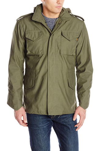 Green Military Jacket Alpha Industries