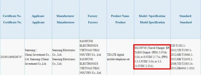 The Galaxy Note 10 is available in Vietnam, fast nap to 45 W picture 1