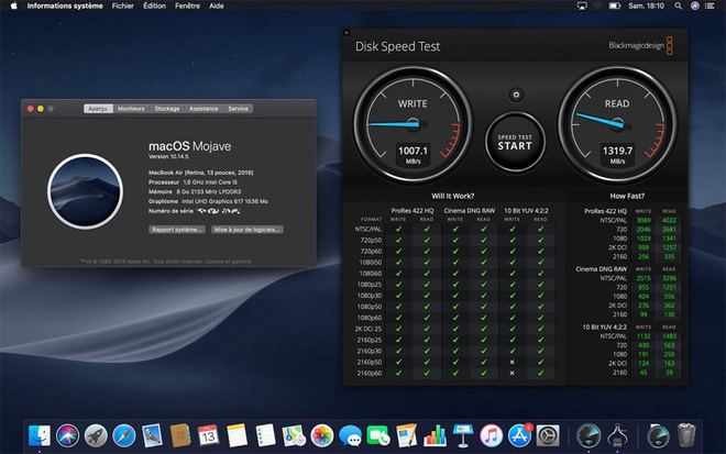Cheaper, but the MacBook Air 2019 also comes with a slower SSD than 2018 - Photo 1.
