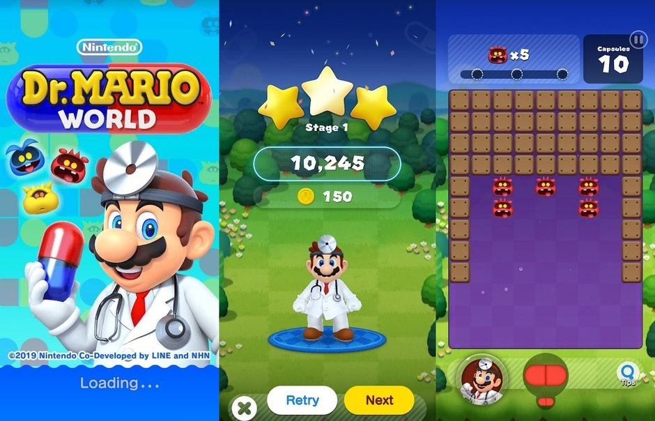 Dr. Mario World can now be installed on your iPhone or Android device
