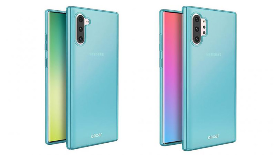 Sforum - The latest technology information page Galaxy-Note-10-1 Galaxy Note 10 Pro will have one or two 3D ToF sensors