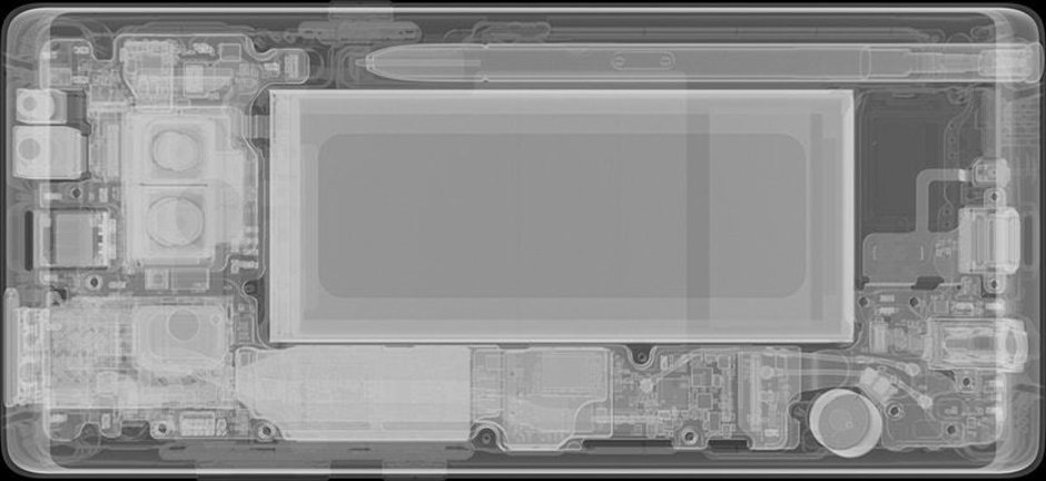 Galaxy Note 8 with S Pen, image courtesy of iFixit