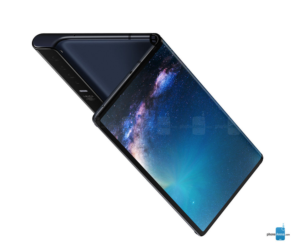 The foldable Huawei Mate X should launch with Android pre-installed