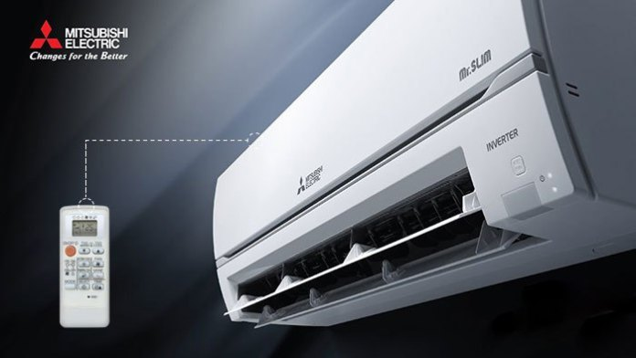 How to control Mitsubishi Electric air conditioner quickly