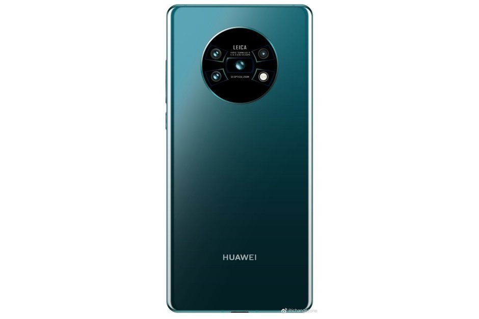 The Mate 30 Pro may look like this
