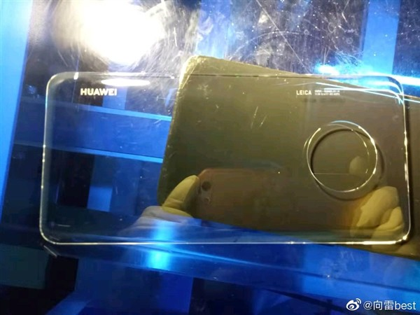 Huawei Mate 30 exposes the camera design behind the circle - Photo 1.