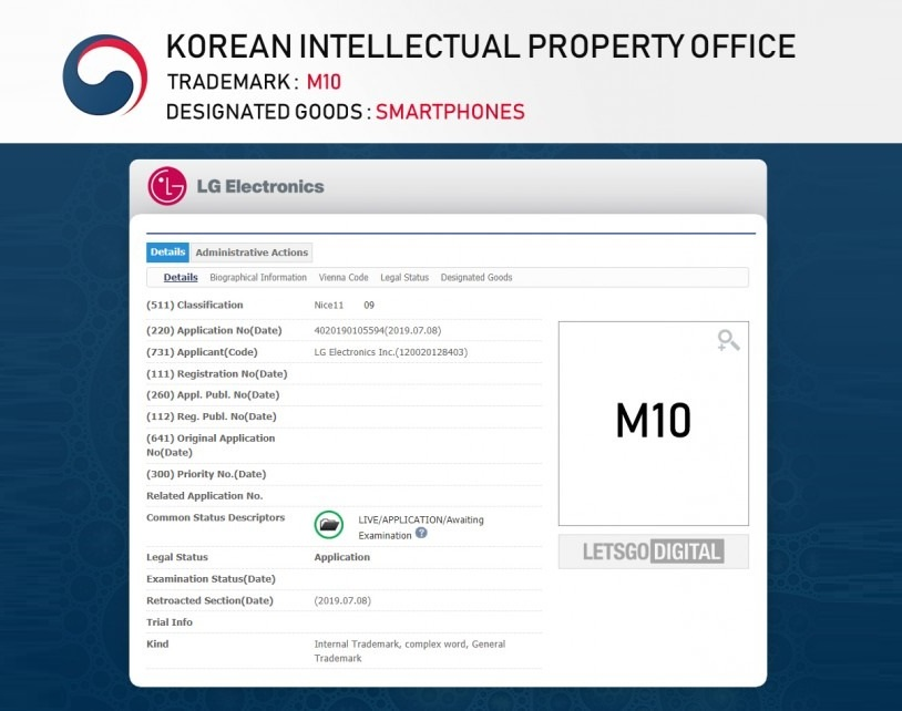 Sforum - LG-m10 LG's latest technology site is about to launch a new smartphone and it has a very similar name to Samsung.