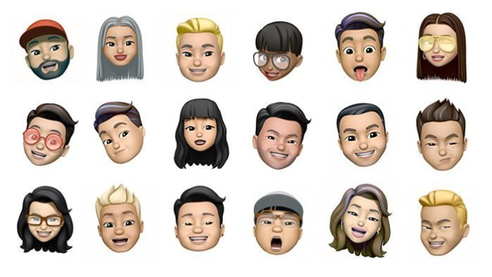"New Mimoji of Apple's ""identical"" Xiaomi Memoji"