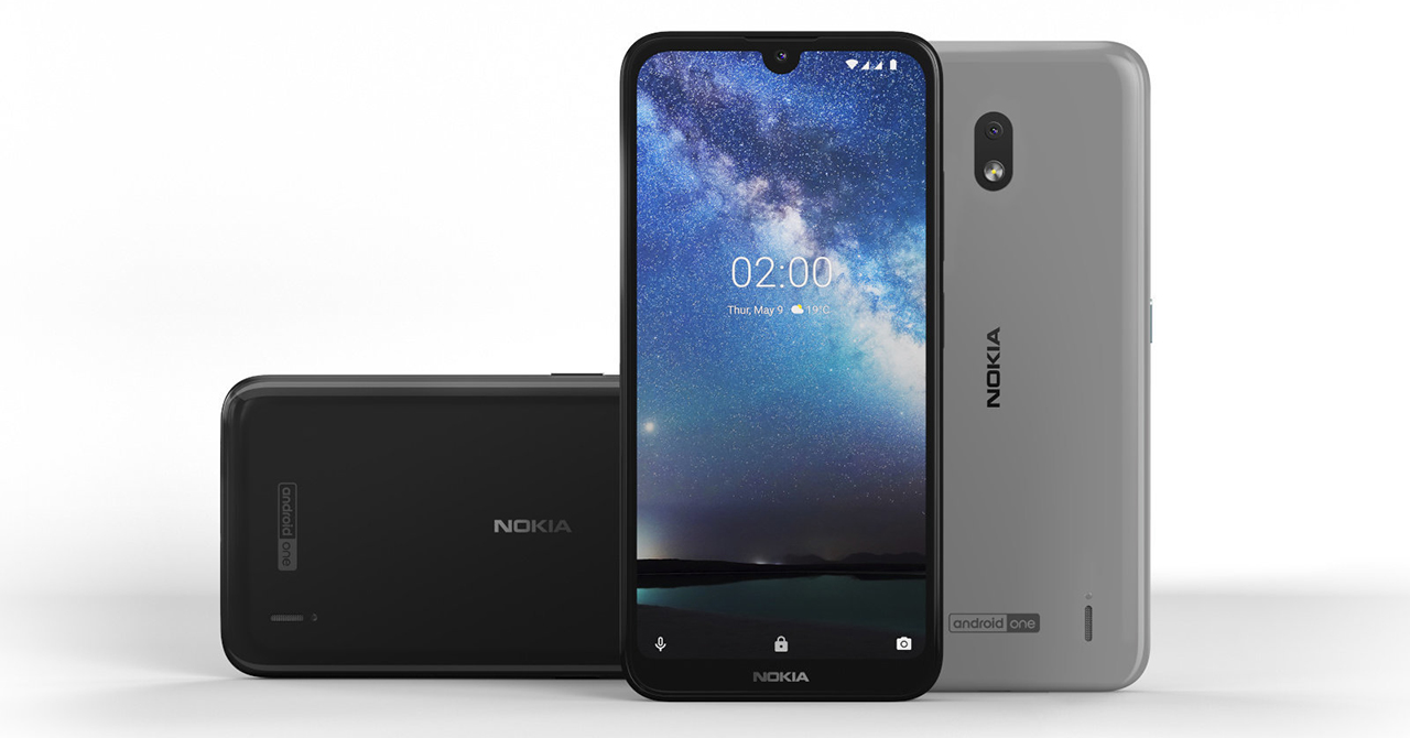 Sforum - The latest technology information page dims-2 Nokia 2.2 launched in Vietnam: Integrated virtual assistant key, night shooting with AI, running Android One, priced from 2.2 million