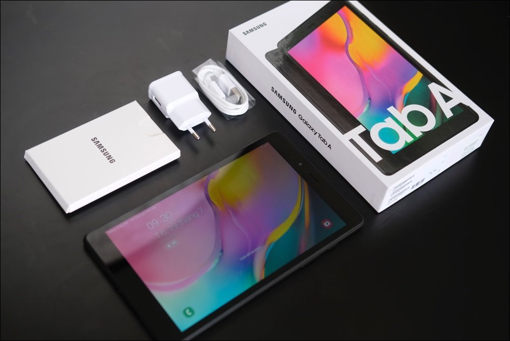 Open Galaxy Tab A 8.0 (2019): Table phone 3.69 million, enough to use?