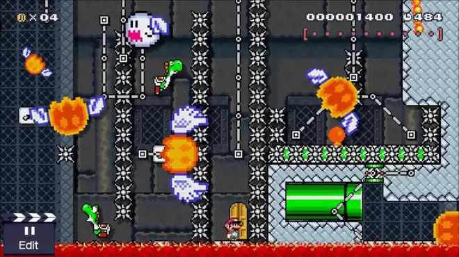 Plowing for more than 3 years, the creator of Mario Maker has not yet been able to break the level created by himself - Photo 1.
