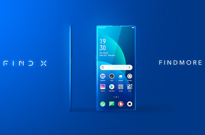 Sforum - Latest technology page Oppo-Find-X-2-phone-design-render-1 Pre-label the OPPO Find X2 idea with a spotless beautiful borderless screen