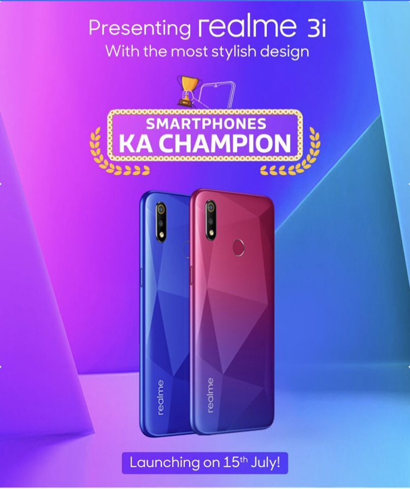 Sforum - Latest information technology site Realme-3i-India-launch-date-design Realme 3i exposes the configuration and price details before launch date