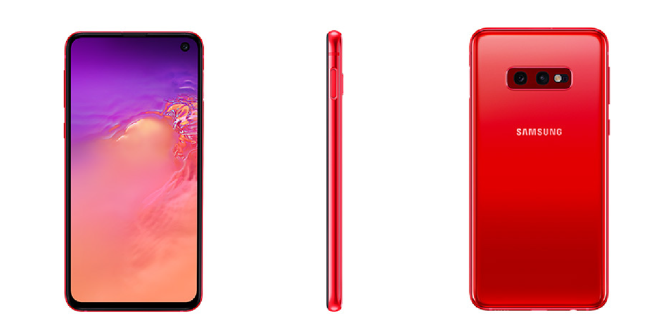 Red Galaxy S10e version goes official, but there