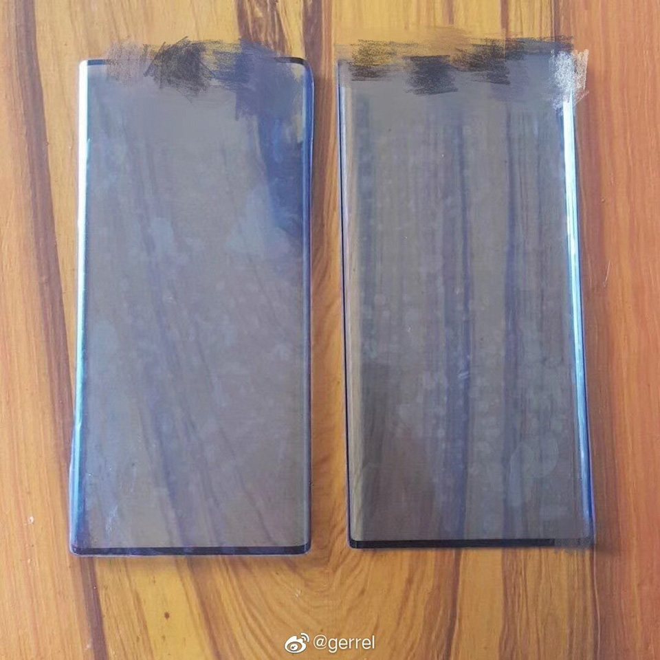 Sforum - The latest technology information page in China-man-hinh-Huawei-mate-30-1 Reveals the screen protector of Huawei Mate 30 and Mate 30 Pro with ultra-thin borders