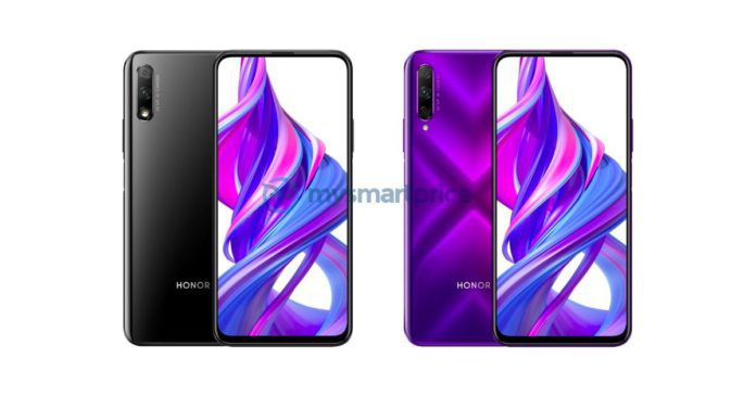 Sforum - Latest technology information Honor-9X-Pro-Colors-696x365 Reveal you official render Honor 9X and Honor 9X Pro: Screen overflow, pop-up camera