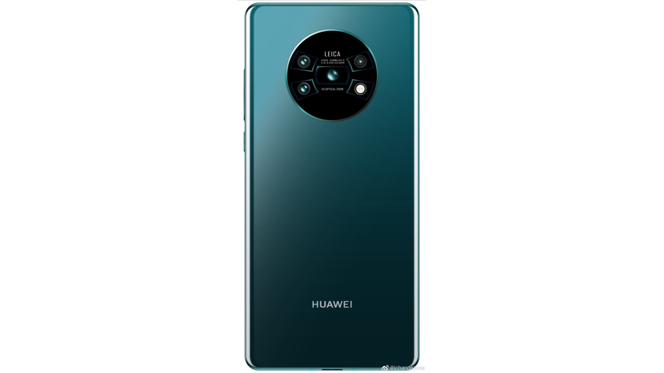 Sforum - Latest technology information page Huawei-Mate-30-Pro-rear-camera-face Revealing Huawei Mate 30's back: 4 rear cameras and LED flash arranged in a cool X
