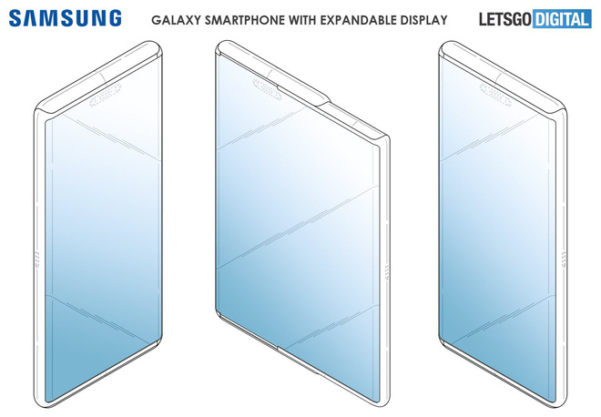 Revealing Samsung's flexible screen smartphone, if it's applied to Galaxy S11, it's too good - Photo 1.