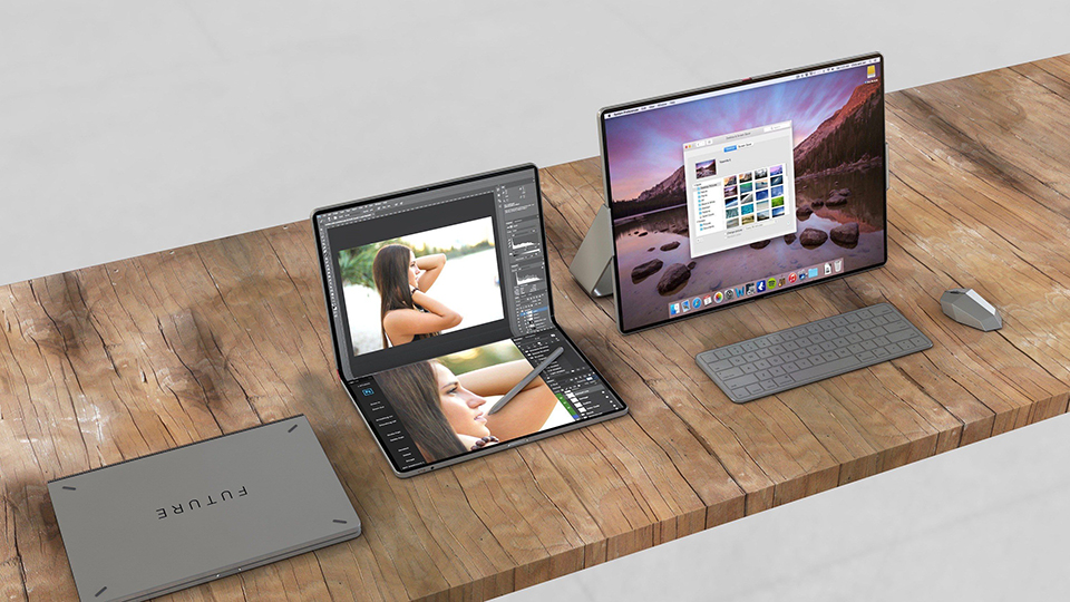 Sforum - Latest technology information page mac-ipad-foldable-hybrid-device Rumor: Apple can launch an iPad screen folds to support 5G by 2020