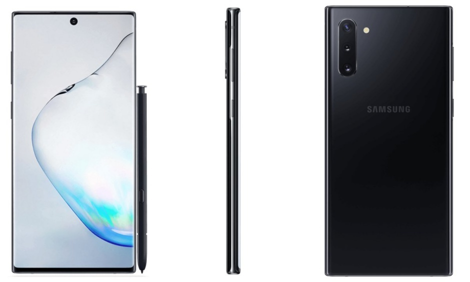 The Galaxy Note 10 doesn