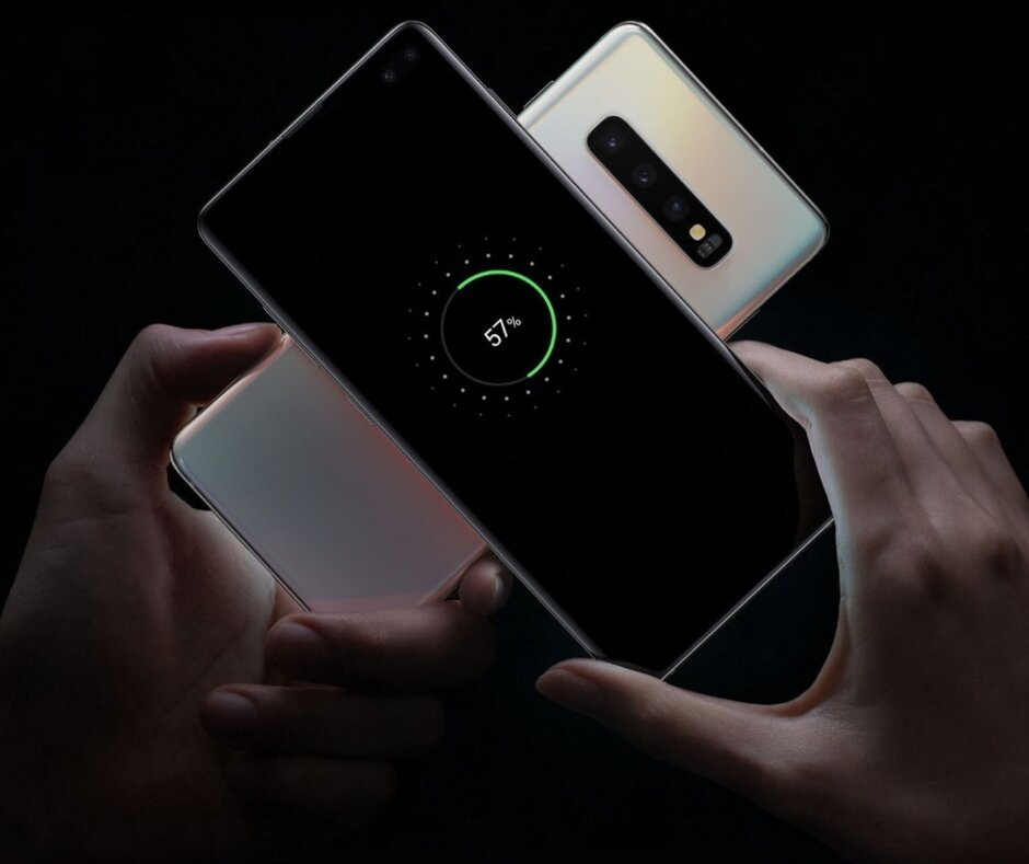 Samsung says those sharing their battery life through wireless PowerShare are sharing an intimate part of themselves - Samsung survey shows that reverse wireless charging is the new sex